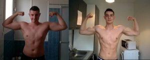 Après 8 mois et 20kg de perdus, je peux enfin repartir sur une bonne base ! 🙂 Total