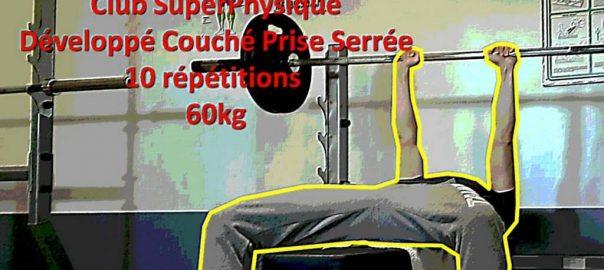 D velopp couch prise serr e club sp - Progresser developpe couche ...
