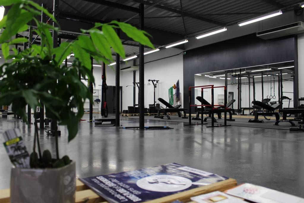 Salle de musculation Steel Garden