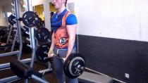 Qf27-10X45kg-Curl barre