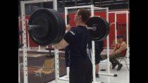DavidLap-1X100kg-Développé militaire