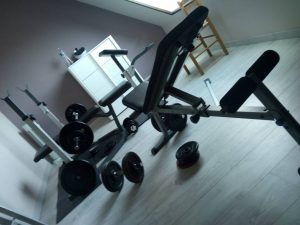 Ma salle de sport .. 🙂 19885716_10211577286740664_411784625_o