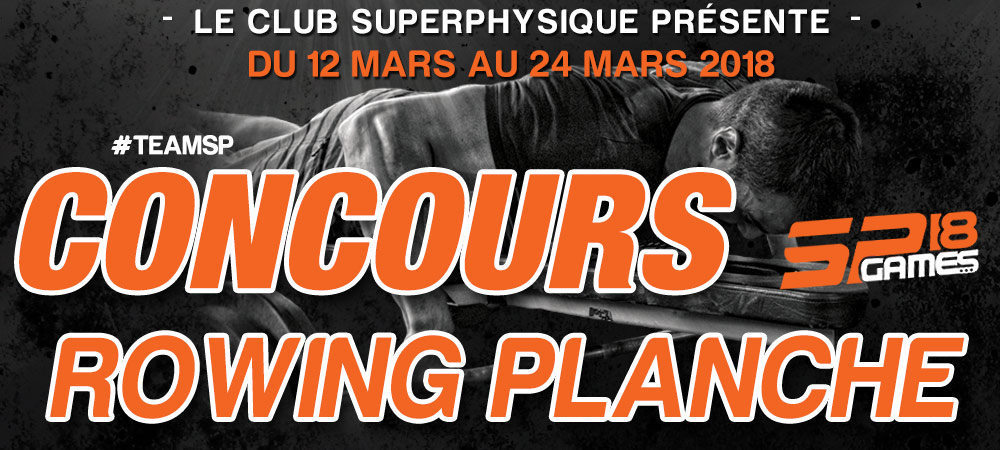concours rowing planche 2018